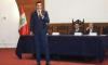 Iván Farías es reconocido por el congreso de Perú